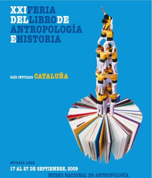 XXI Feria del Libro de Antropología e Historia